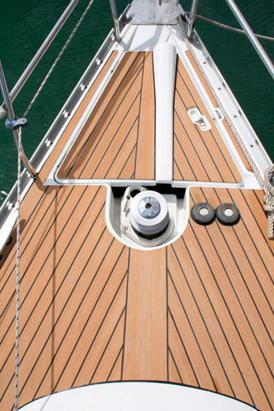 Sailing Boat With Flexiteek Decking